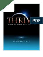 Thrive Movie Screening Kit 2012