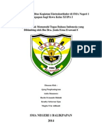 Pengaruh Dan Fasilitas Kegiatan Ekstrakulikuler Di SMA Negeri 1 Balikpapan Bagi Siswa (Autosaved)