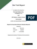 EFPC Site Visit Report Final
