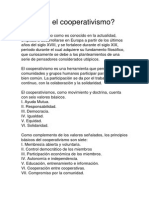 El cooperativismo Dominicano