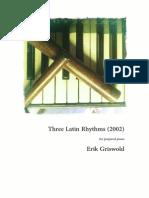Erik Griswold - Three Latin Rhythms