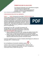 Allegato 3 Osservazioni a.i.a. Zuccarello 9 Giugno 2011 Tavolo Tecnico Prescrizioni Presente Cannova .Compressed
