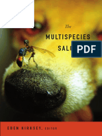 The Multispecies Salon edited by Eben Kirksey