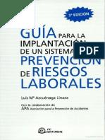 Guía para la implantación de un sistema de prevención de riesgos laborales.pdf