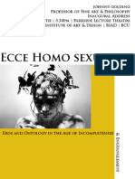 Ecce Homo Sexual - Eros and Ontology in an age of incompleteness & entanglement.