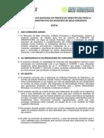 Edital Concurso Centro Administrativo