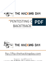 ThD - Pentesting Con BackTrack