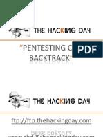 ThD - Pentesting Con BackTrack