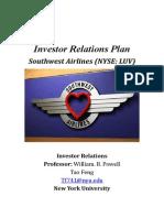 Southwest InvestorRelations TaoFeng