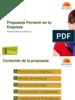 Propuesta General Porvenir en Tu Empresa