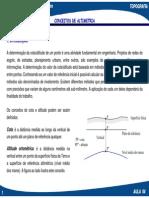 AULA 04 - Lev. Topografico - Altimetria