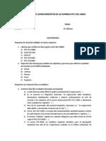 Evaluación Conocimientos Ntc-Iso 14001