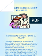 Diferencias Niño Adulto