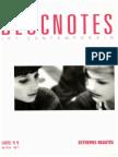 BLOCNOTES No. 11 (1996) Extremes Beautés (Ocr)
