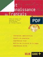 TÉLÉCHARGER TEST DE CONNAISSANCE DU FRANÇAIS (TCF LIVRE CD AUDIO