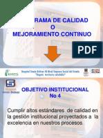 Presentación Programa de Mejora Continua