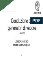 Corso Conduzione Generatori Vapore Lezione 9