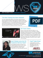 OX GROUP USA_OX Customer Newsletter (Sept 2014)
