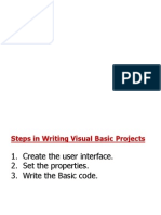 Visual Basic Lesson 2 and 3