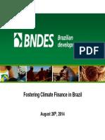 Fostering Climate Finance in Brazil