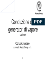 Corso Conduzione Generatori Vapore Lezione 6