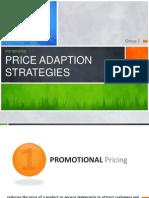 Price Adaptation Strategy