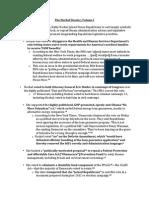 Hochul Dossier, Volume I - Anti-Democrat, Pro-Republican