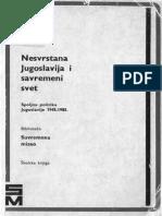R. Petković, Nesvrstana Jugoslavija i Savremeni Svet, Zagreb 1985.