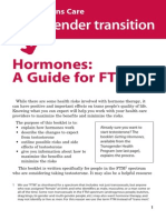 Hormones FTM Guide - Gender Care Canada