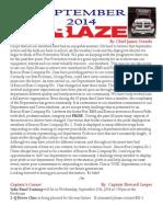 Beacon Hose newsletter - Sept. 2014