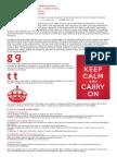Keep Calm Font History