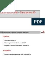 2 Taller BIM_Simulación 4D