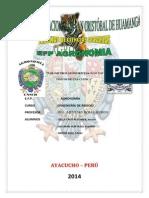 PARÁMETROS GEOMORFOLOGICOS Y/O FISICOS DE UNA CUENCA