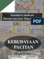 sejarah - Kebudayaan Pacitan