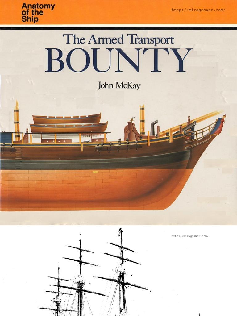 Anatomy Of The Ship Hms Bounty