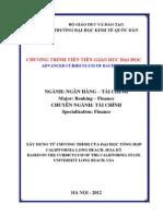 Dịch thuật ngữ ANh-Việt theo chương trình đào tạo