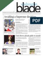 Washingtonblade.com, Volume 45, Issue 36, September 5, 2014