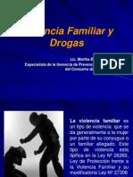 Violencia Familiar y Drogas