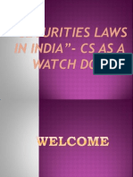 Securities Laws in India