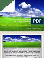 RPBI y Manejo de La NOM 087 Para Implementación