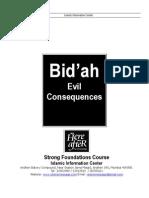 5) Bid'Ah- Evil Consequences