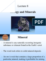 Energy Minerals and Waste Management
