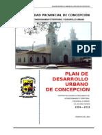 Plan de Desarrollo Urbano Concepcion