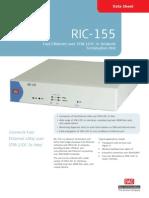 RIC-155 Data Sheet