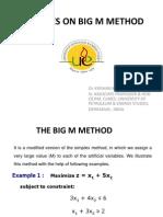 Big m Method