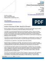 Freedom of Info Response Letter 1415062