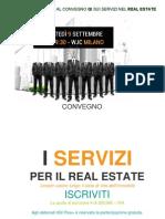 Servizi Real Estate - Massimo Caputi ed i manager Prelios al Convegno QI