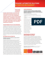Qualcomm Snapdragon Automotive Solutions Product Brief