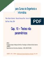Cap 10 - Testes Não Paramétricos