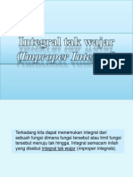Integral Tak Wajar B13 Ppt